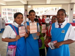 Students of SMK Ayer Keroh