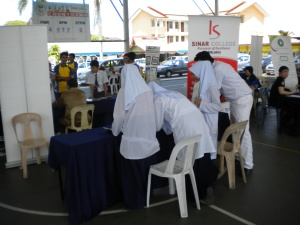 Students of SMK Seri Kota