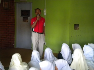 Motivational Talk at SMK Telok Mas