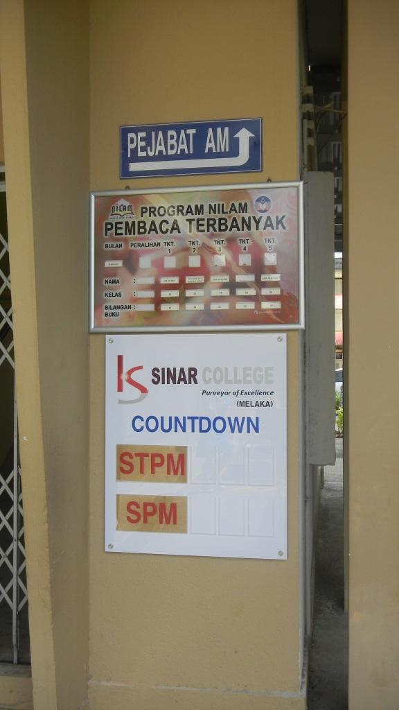 Sinar College Sponsors SMJK Seg Hwa, Segamat