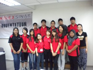 Orientation Day 2013 at Kolej Sinar