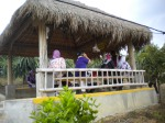 Teachers were touring Selandar Farm