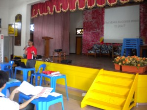 ACCA Talk at SMK Methodist ACS Melaka