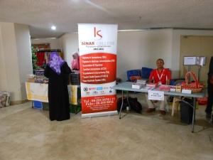Booth at Konvensyen Usahawan Muslim, Pusat Islam