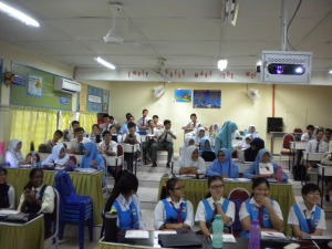 Students of SMK Dang Anum, Merlimau