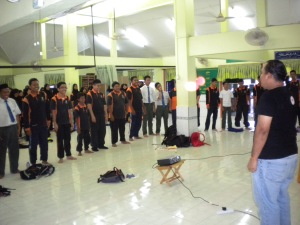 Kolej Sinar carried out exciting activities with students of SMK Seri Tanjung, Tanjung Keling