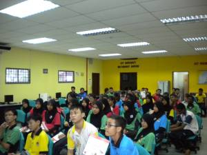 Students of SMK Durian Tunggal