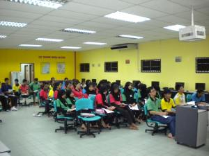 Talk at SMK Durian Tunggal