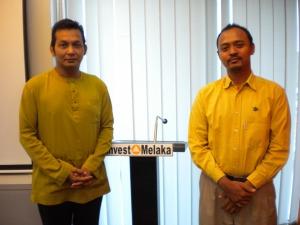 With En Adli from Invest Melaka
