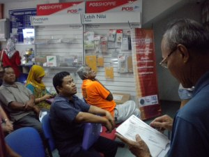 Sinar College at Post Office Cheng