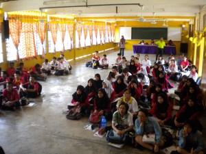 Talk at SMK Ledang