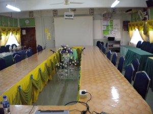 Venue for talk at SMK Teknik Bukit Piatu