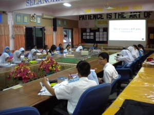 Students of SMK Sagil