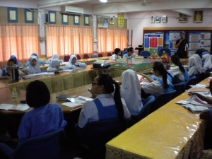 Talk at SMK Sagil