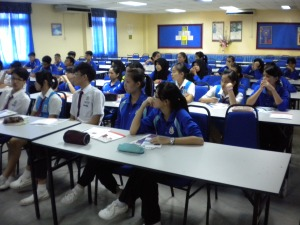 Students of SMK Seri Jementah