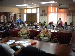 Talk at SMK Sultan Mansur Shah Pulau Sebang