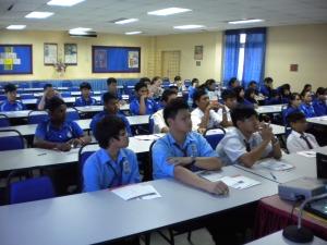 Kolej Sinar at SMK Seri Tangkak