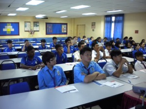 ACCA Talk at SMK Seri Jementah