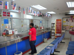 Post Office at Masjid Tanah