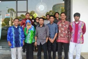 Tourist Guide students outing in Melaka Tour