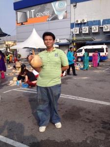 Melaka Tour Guide student at MITC Melaka during Pesta Pongal