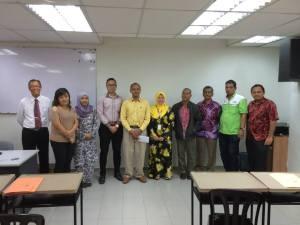 Travel and Tour Enhancement Course (TTEC) at Melaka with Puan Zawiyah of Kementerian Pelancongan
