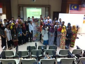 Talk at Politeknik Merlimau, Melaka