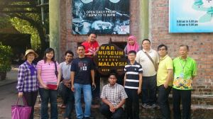 Tourist Guide Students During Penang Tour