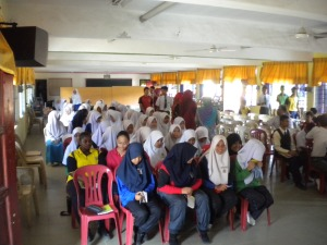 Talk at SMK Malim