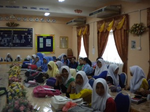 Students of SMK Hang Kasturi