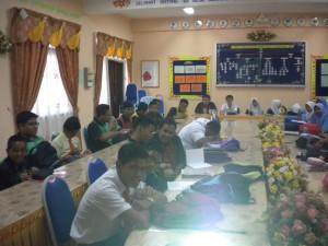 Talk at SMK Hang Kasturi, Masjid Tanah