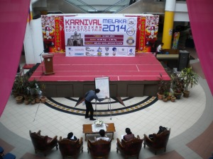 Karnival Pendidikan Melaka at Melaka Mall