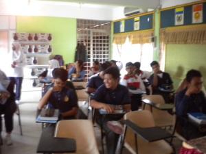 Students of SMK Seri Bemban, Melaka
