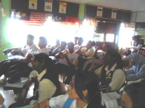 Students of SMK Seri Bemban