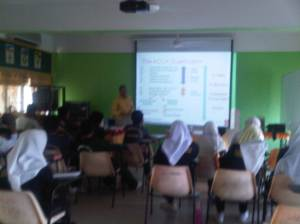 Talk on accountancy career and qualification at SMK Seri Bemban