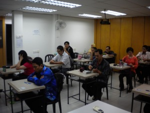 Tourist Guide Course (Pemandu Pelancong) Written Exam at Melaka