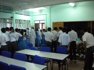 Form 5 Science Students of SMK St David