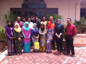 Final Year Students of Diploma in Event Management Kolej Politeknik Merlimau