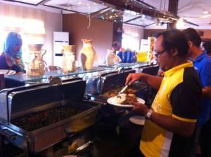 Lunch at Hotel Selesa, Johor Bahru