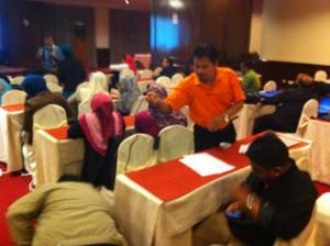 Skim Kredit Kemahiran Malaysia workshop at Hotel Selesa, Johor Bahru