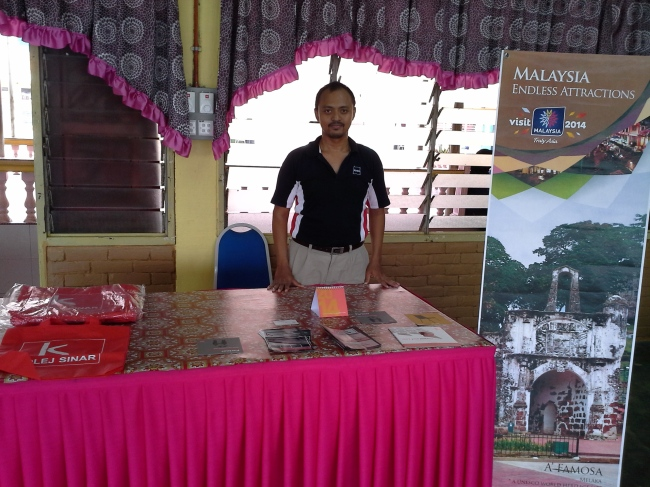 Education Fair at SMK Tun Mutahir, Batu Berendam
